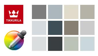 Компьютерный подбор краски для стен, спектр цветов гидроизоляция и свойства