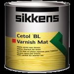 Sikkens Cetol BL Varnish Mat / Сиккенс Сетол БЛ Варниш Мат износостойкий лак полиуретановый по древесине