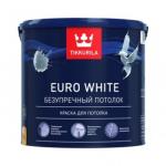 Tikkurila Euro White / Тиккурила Евро Безупречный потолок краска для потолка