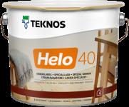 Teknos Helo 40 / Текнос Хело лак по дереву уретано-алкидный, полуглянцевый