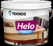 Teknos Helo Aqua 20 / Текнос Хело Аква лак паркетный водоразбавляемый, полуматовый