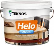 Teknos Helo Aqua 40 / Текнос Хело Аква лак паркетный водоразбавляемый, полуглянцевый