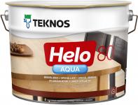 Teknos Helo Aqua 80 / Текнос Хело Аква лак паркетный водоразбавляемый, глянцевый