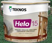Teknos Helo 15 / Текнос Хело лак по дереву уретано-алкидный, матовый
