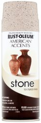 Rust-Oleum American Accents Stone Spray Paint / Руст-Олеум Американ Акцент Стоун Спрей Пейнт Краска спрей с эффектом природного камня