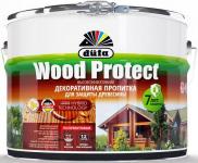 Dufa Wood Protect / Дюфа Вуд Протект пропитка для дерева с антисептиком, декоративная