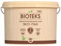 Текс Bioteks Эко-лак / Биотекс лак паркетный на акриловой основе сверхпрочый